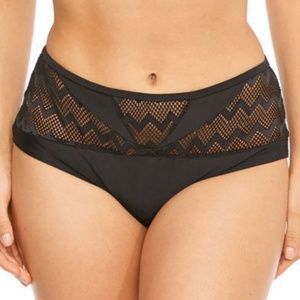 Curvy Kate Hi Voltage Brief Bikini Bottom Black